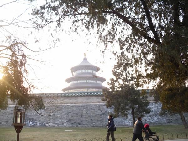 Visite du temple du ciel de Pékin