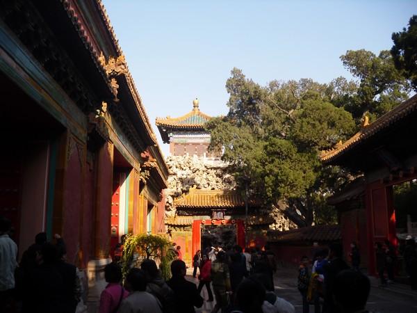 Dernier temple de la cité interdite à Pékin
