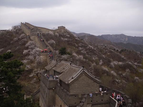Fortifications Muraille de Chine à Mutianyu