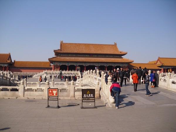 Palais de la cité interdite à Pékin