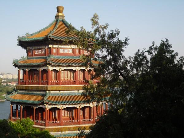 Grand palais - palais d'été de Pékin en Chine