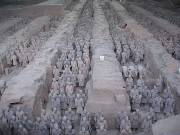 Guerres Chinois terre cuite