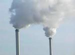 Cheminées d'usine et pollution