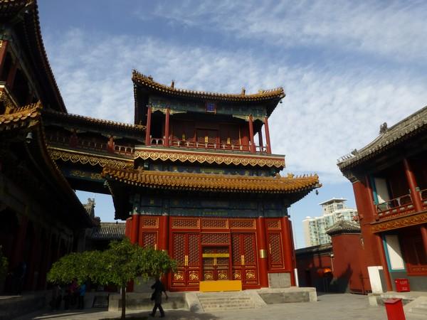 Cinquième et dernière cours du temple des Lamas