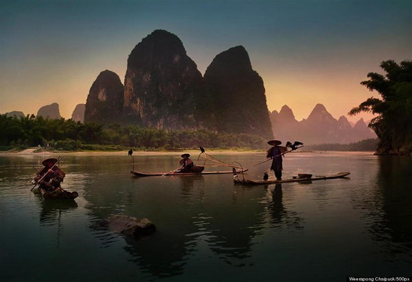 pêcheurs yangshuo