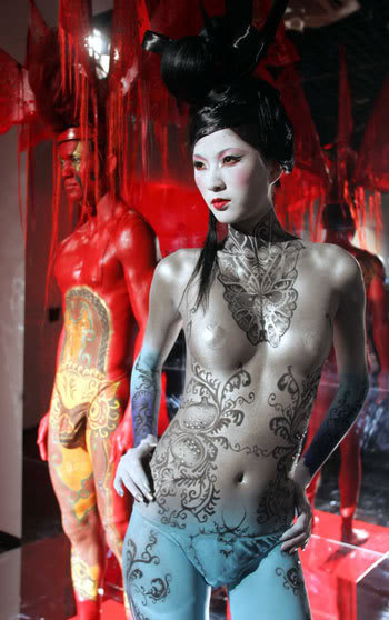 body paint2