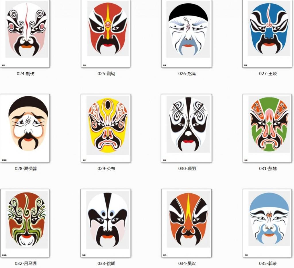 masques opéra pékin