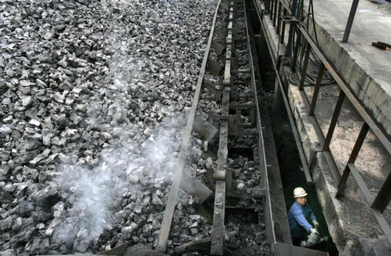 Usine à charbon